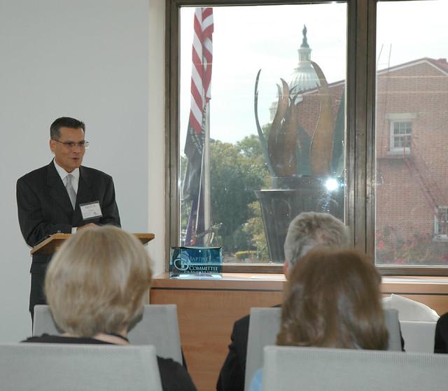 Dedication of Baugh-Walker Conference Suite