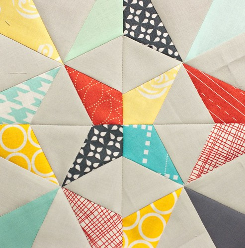 PTS 9 - Paper Pieced Kaleidoscope