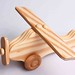 Hand-Made Wooden Airplane