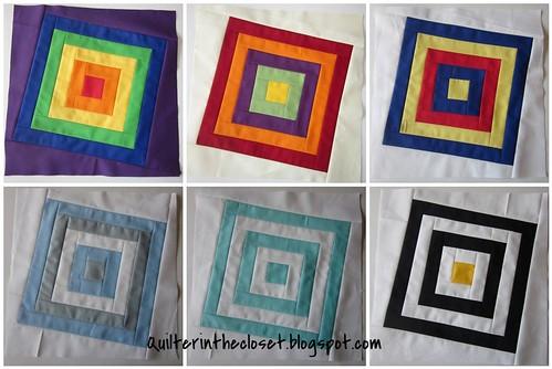 3 x 6 solids mosaic