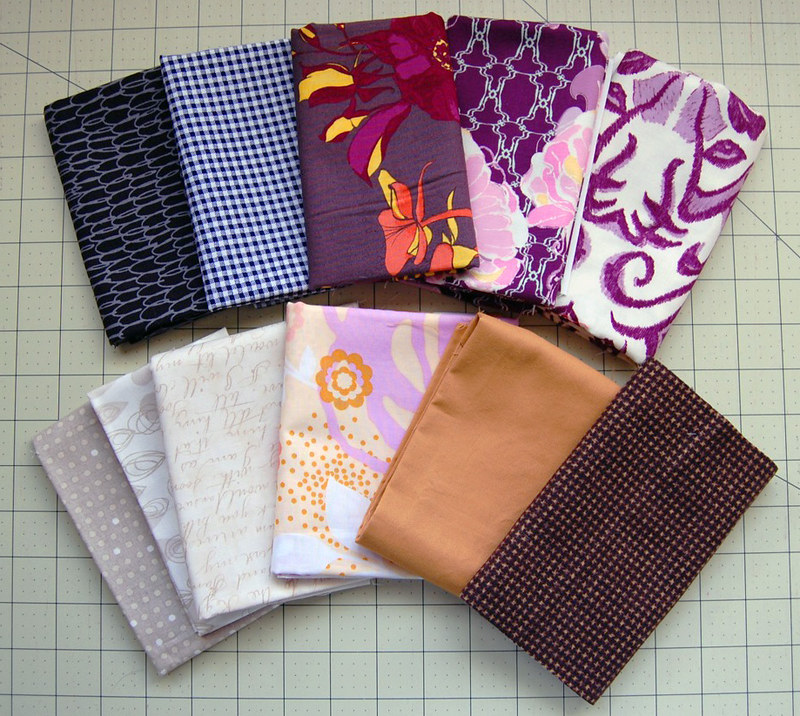 Paper Piecing  Fabric Bundle