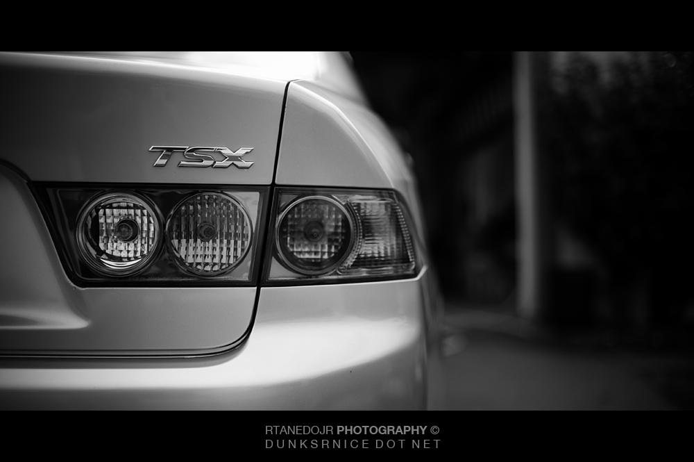 TSX B&W.