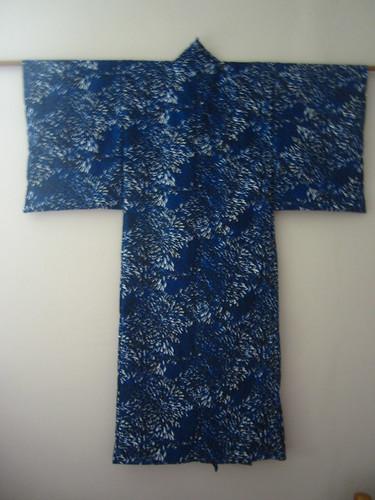 Boy's Blue Yukata