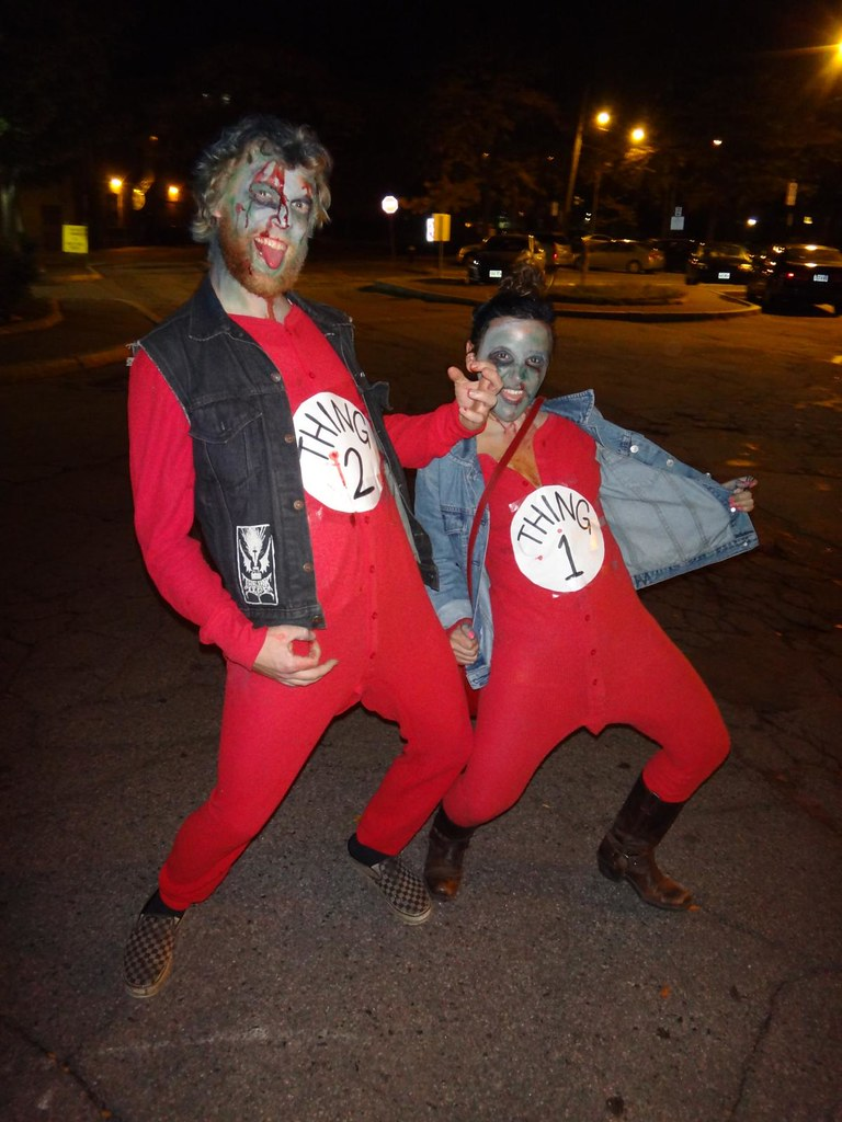 Feast of Flesh 2012 Coolidge Corner Thing 1 Thing 2 zombies
