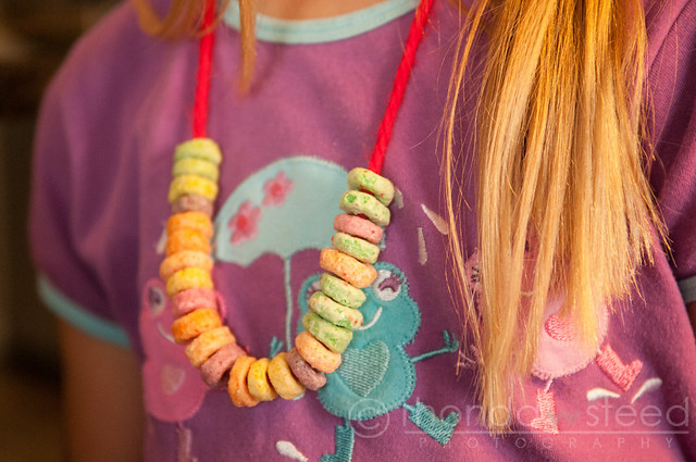 Cereal Necklaces