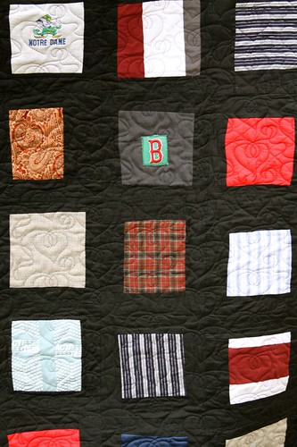 Cool Custom Quilt Made From Clothing
