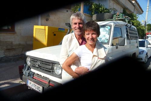 Brigitte & Dieter, Mustafapaşa, Turkey
