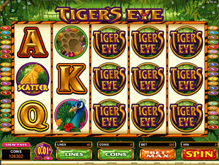 Tiger's Eye Slot Machine