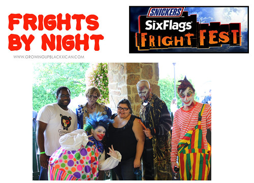 Growingupblackxican at Six Flags Fright Fest 2012