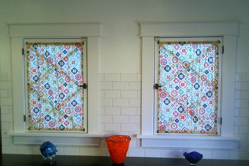 Justin & Jorge's curtains