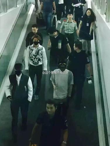 BIGBANG GDTOPDAE arrival Hangzhou 2015-08-25 150