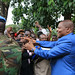 President of the Central African Rebublic, Head of MINISCA Visit Town of Kaga-Bandoro