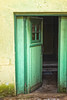 Green Door Open