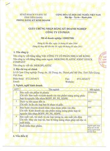 dịch thuật công chứng đăng ký kinh doanh lấy ngay tại Hà Nội