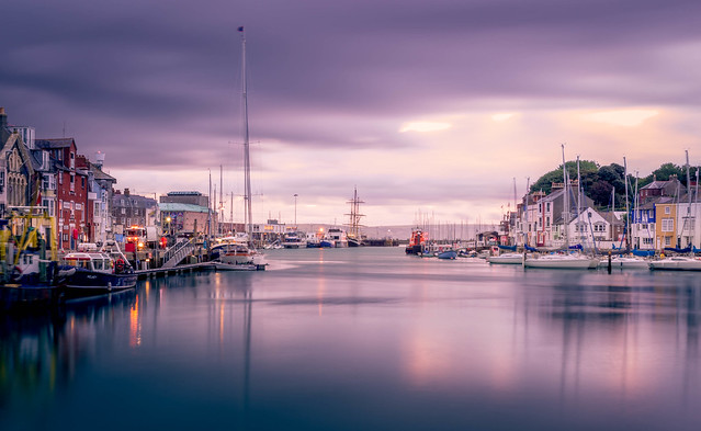 Weymouth Harbour Morning (Explored)
