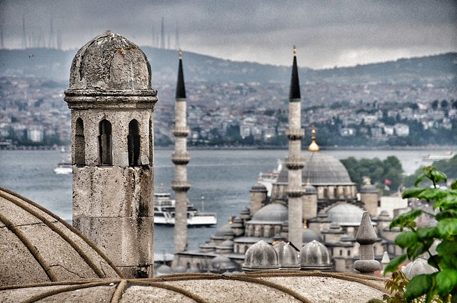 Istiklal Street Bosphorus by sercanengin