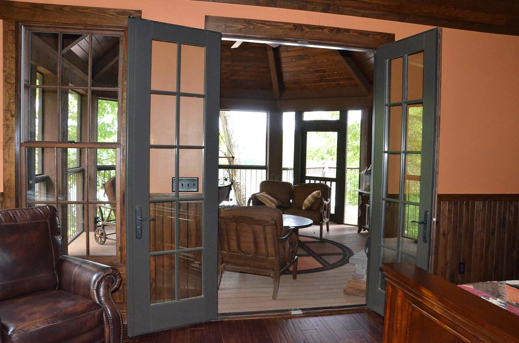 Houzz Appalachia View Of Screened Porch View On Flickr