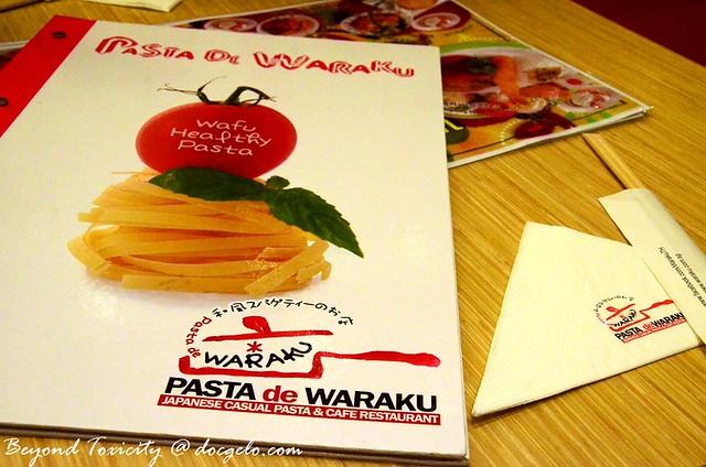 pasta de waraku