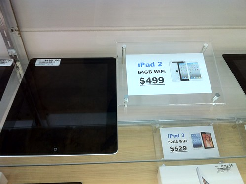 64 GB iPad 2 Wifi for $499