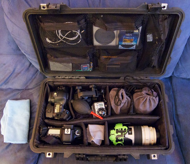 Peli Case 1510 - Packed & Ready