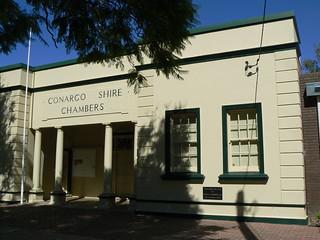 Conargo Shire Chambers, Deniliquin