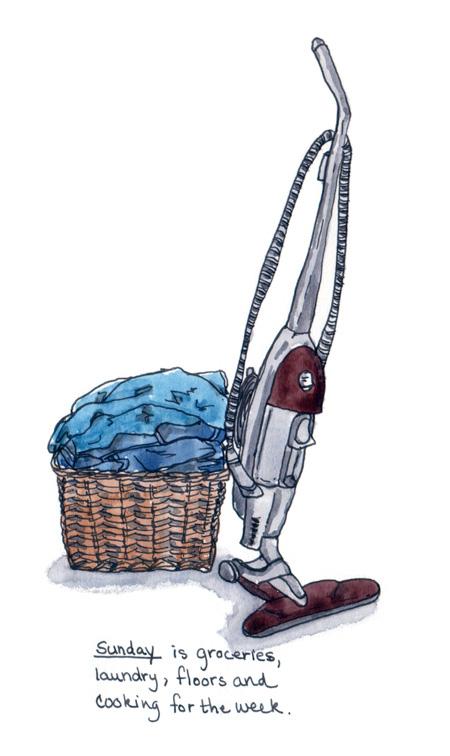 Sunday chores