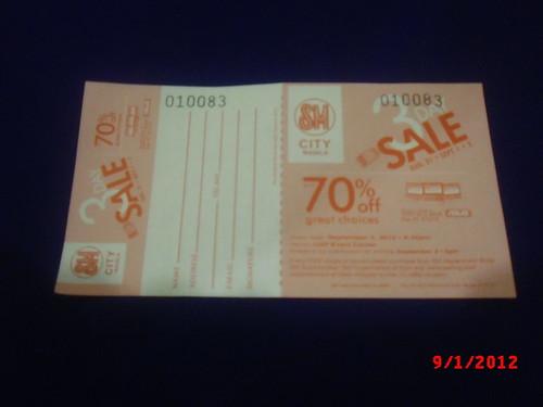 SM City Manila 3 Day Sale KNT 25