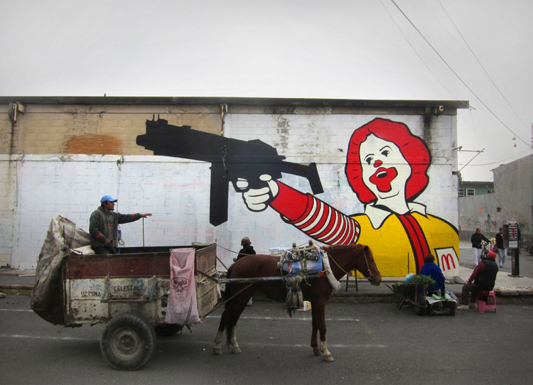Ronald McDonald in Mexico