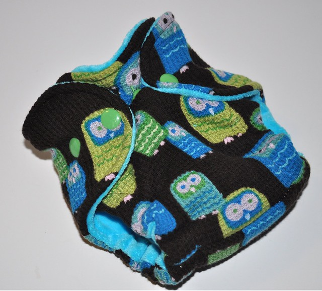 Bumstoppers Newborn Thermal Owls Fitted