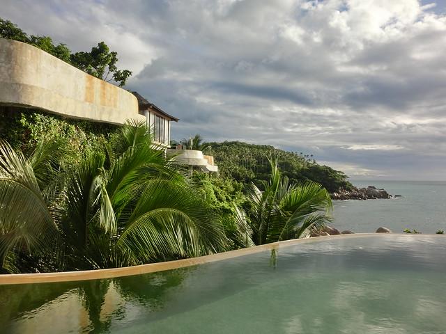 Our Villa Pool (Panoramic ocean view pool villa)