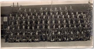 1949 00 00 RAF Bridgnorth 21 Flight F Squadron 3 Wing - Square Bashing (Basic Training)