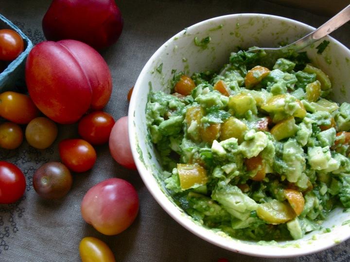 nectarine guacamole tacos 004