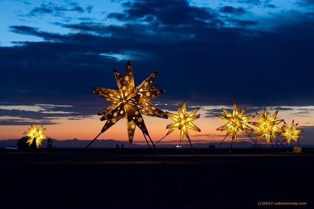Starlight at dawn