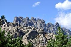 Les tours de Bavella depuis Bocca Furesta