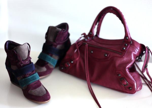 balenciaga bag, ash sneakers, burgundy, אפונה בלוג אופנה, תיק בלנסיאגה, תיקי מעצבים, סניקרס