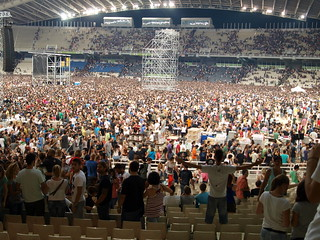 Image of Olympic Stadium near Filothéi. concert athens olympicstadium rhcp redhotchilipeppers 2012 oaka αθήνα οακα