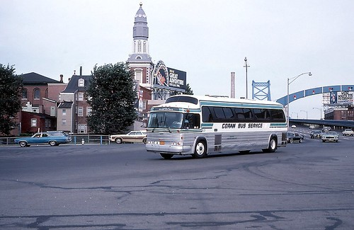 Coram Bus Service 127 on 7-1-78