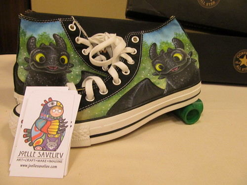 """Toothless Chucks"" by Joelle Saveliev"