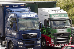 Volvo FH 6x2 Tractor - PX10 DGV - Codey Wray - Green & Red - 2011 - Eddie Stobart - M1 J10 Luton - Steven Gray - IMG_4291
