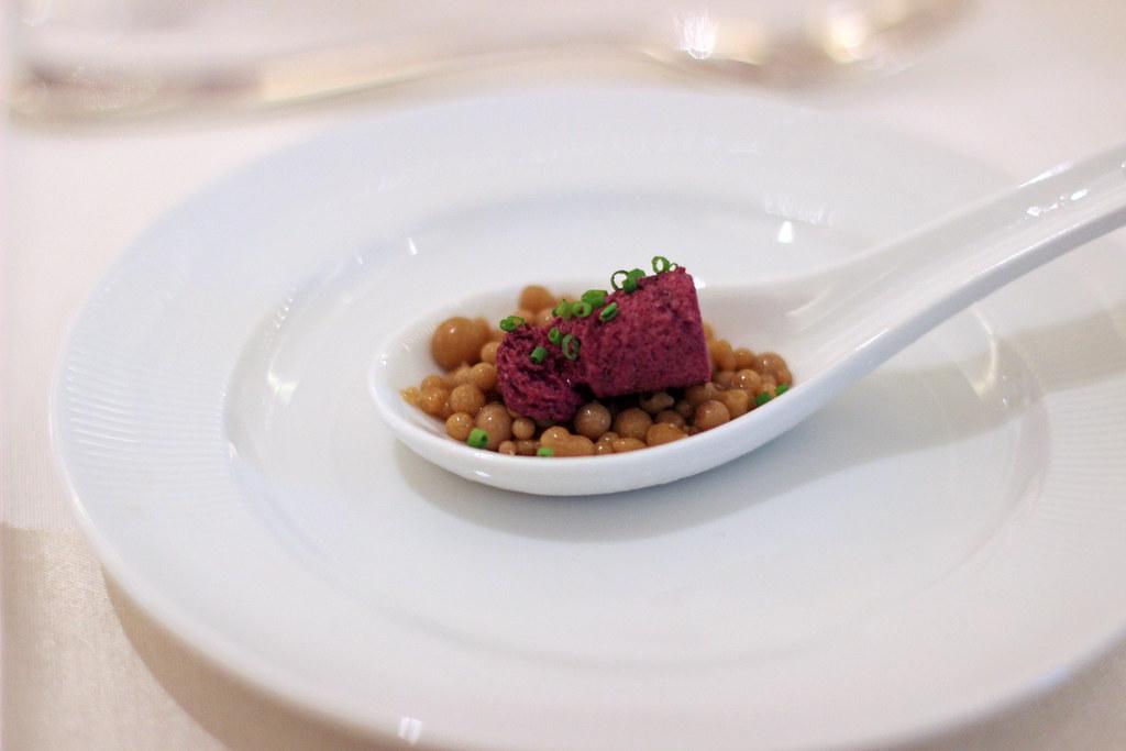 foie gras pearls