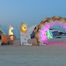 Burning Man 2012 - The Archway Xingularity at the Institute by Wolfram Burner