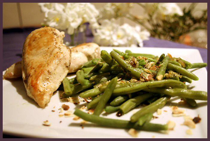 Куриное филе со стручковой фасолью1