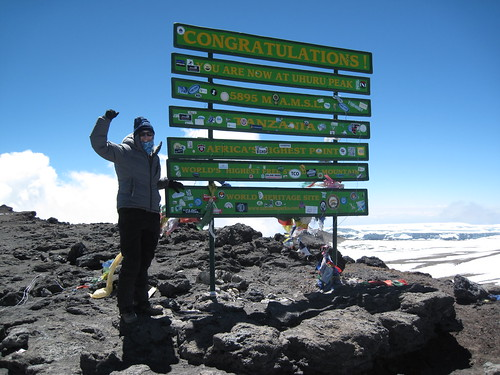 7949642666 73bb414baf Success! I made it to the Roof of Africa! Climb Kilimanjaro with Rachel: Post 5
