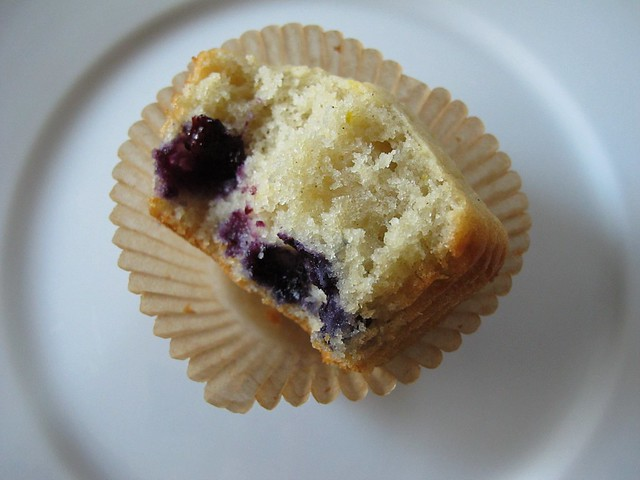GF blueberry muffin