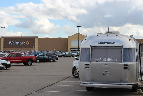 Day 36: Three straight transit days to Minnesota Airstream Park.