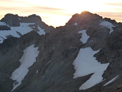 Sunset from Glacier Gap