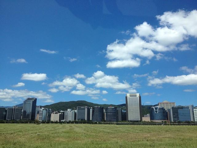 台北內湖的科技大樓