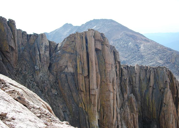 Climbing Long's Peak