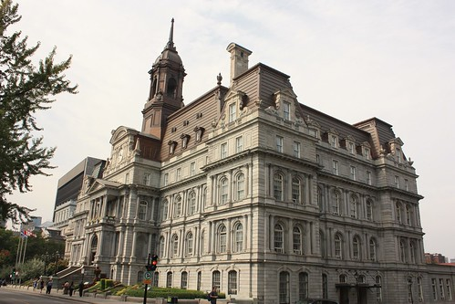Montreal City Hall, Quebec - Canada
