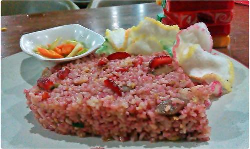Nasi Goreng Strawberry